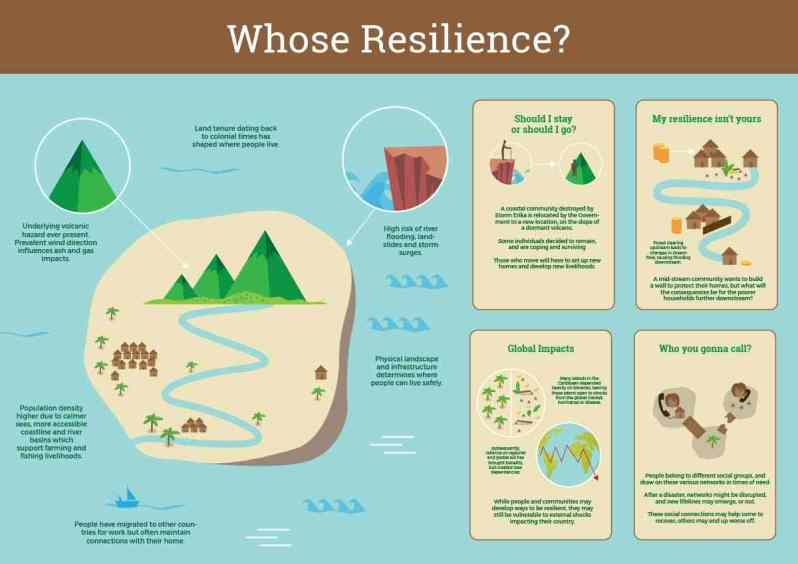 Infographic by team Whose Resilience?